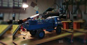 Arduino RC vozítko s elektromagnetickým dělem