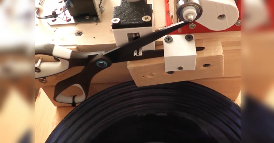 Arduino automatické nůžky