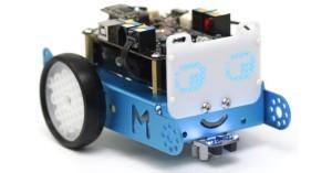 Roboto mBot s maticovým displejem