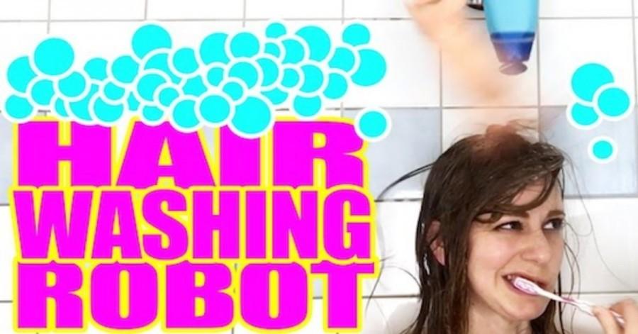 Arduino robot vám nyní umyje vlasy
