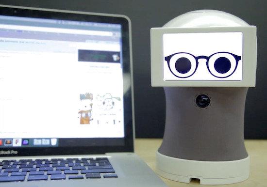 Arduino robotický asistent Peeqo