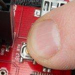 """Arduino robot RedBot #6: Tlačítko start a první """"slova"""""""