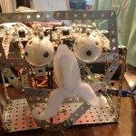 Robotický obličej na Arduinu