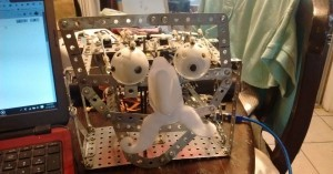 Arduino robotická maska