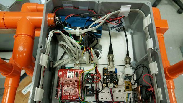 Arduino monitor kvality vody - Elektronika