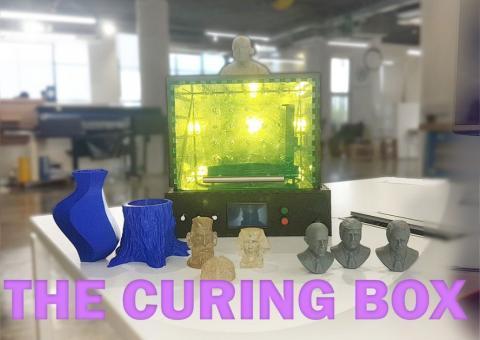 Arduino SLA 3D tisk - ustálovací box