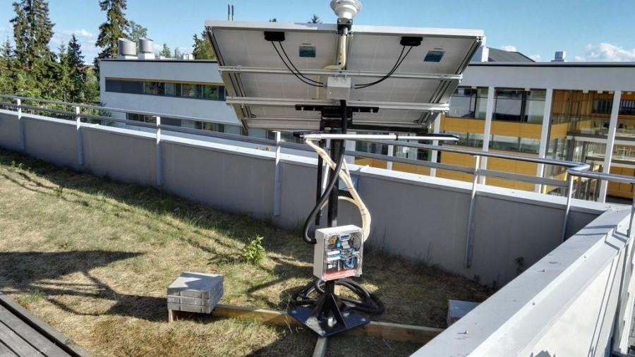 Konstrukce solárního trackeru