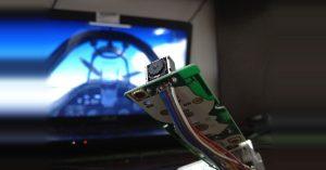 Arduino sledování hlavy