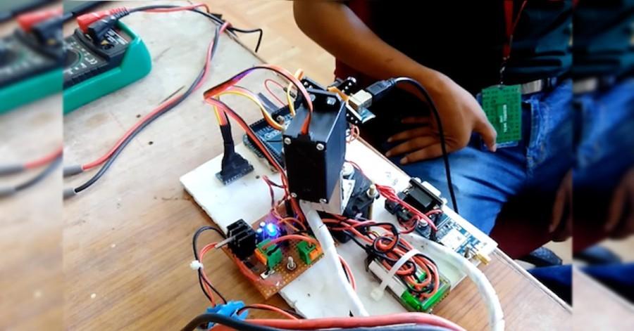 Arduino sledování planet