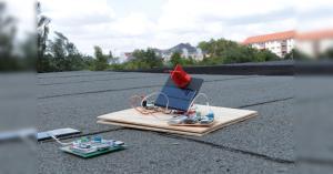 Arduino sledovač slunce
