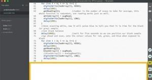 Arduino Studio pro Brackets