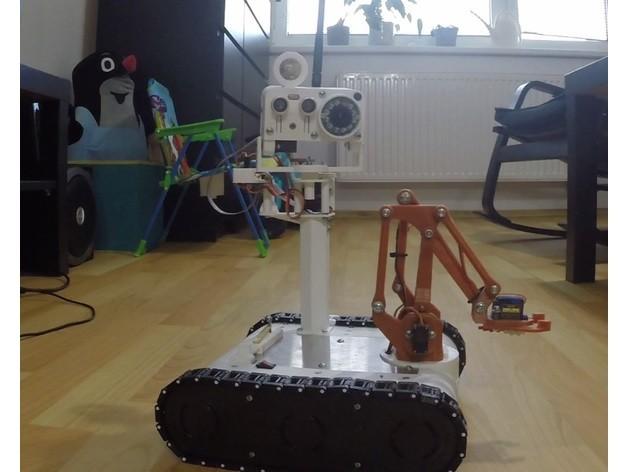 Arduino - Hotový tank