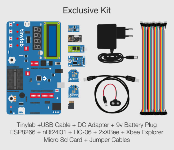 Ardiuno TinyLab Exclusive Kit