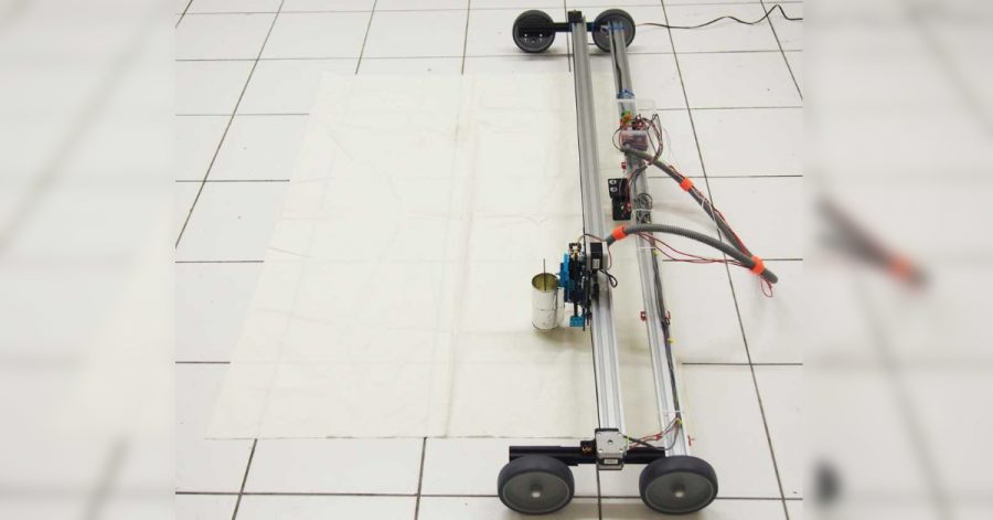 Arduino tisk na textil