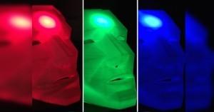 Arduino masky připojené ke Twitteru
