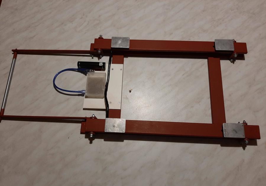 Arduino úlová váha - celkový pohled