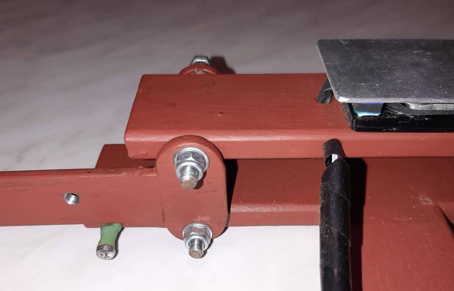 Arduino úlová váha - upevnění tenzometrů