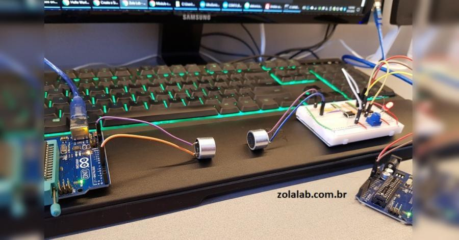 Arduino desky komunikují pomocí ultrazvuku