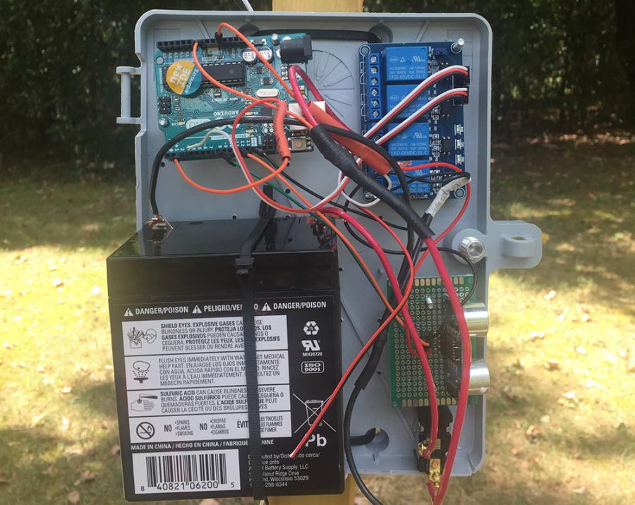 Arduino vláček - Elektronika
