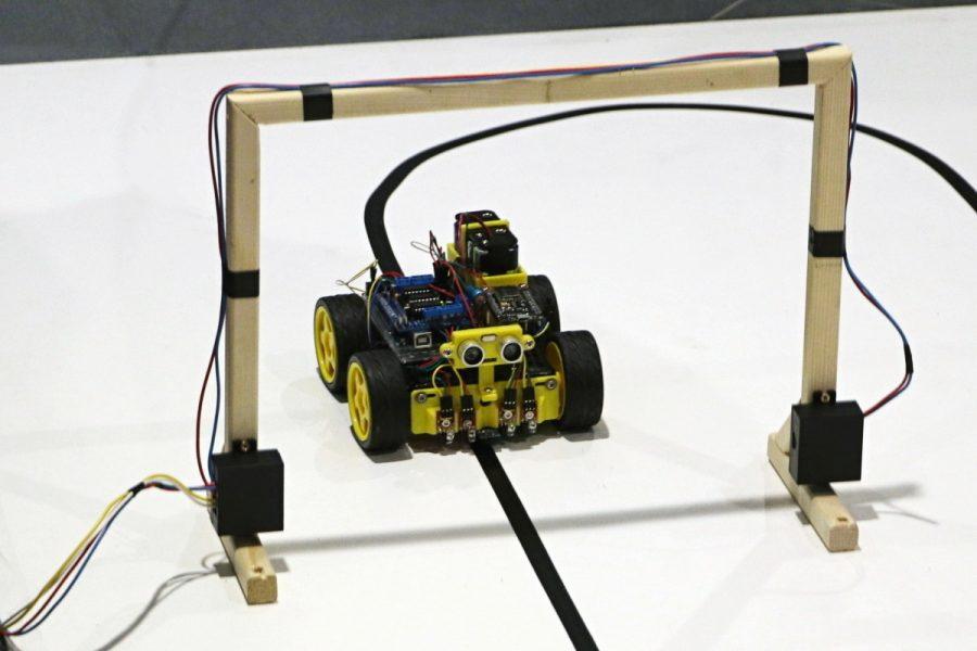 Arduino robot na startu