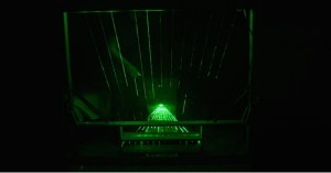 Arduino laserová harfa
