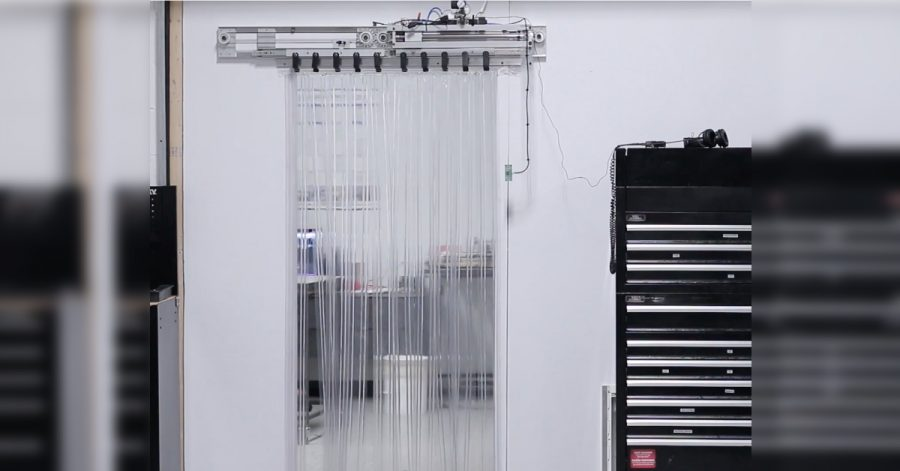 Arduino automatické dveře