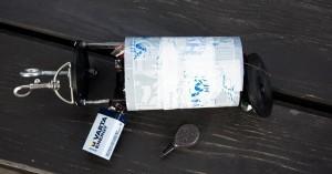Cansat Sonda, baterie a rybářské závaží