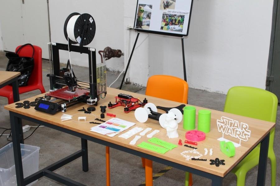 Centrum robotiky - 3D tisk