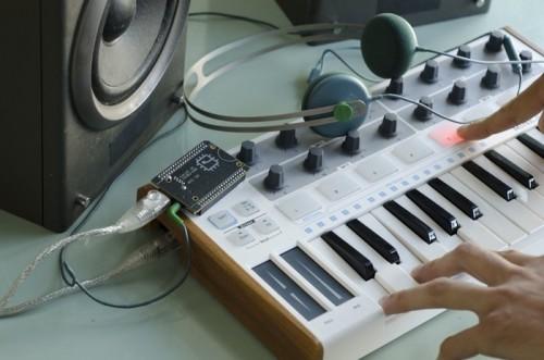 Chip počítač hudba