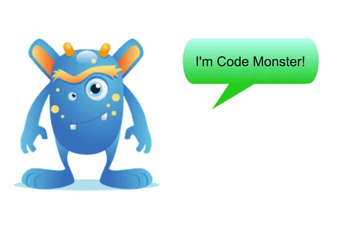 Praštěná příšerka Code Monster