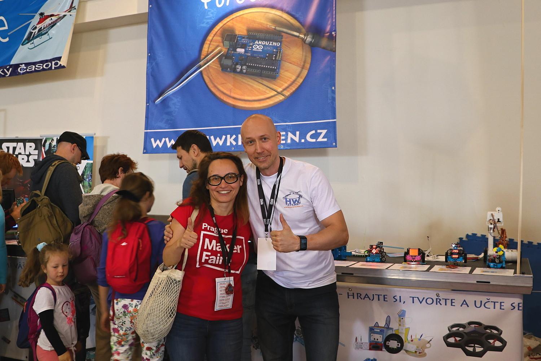 Foto s ředitelkou festivalu Denisou Kera
