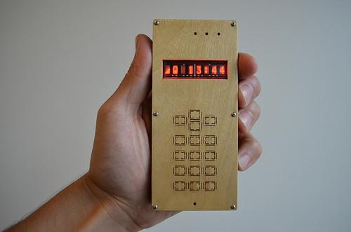 DIY mobilní telefon