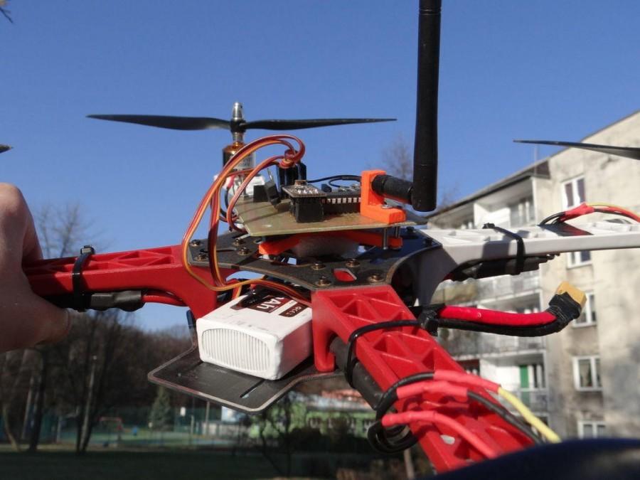 Arduino dron - Řídicí deska
