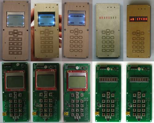 Různé verze DIY telefonu