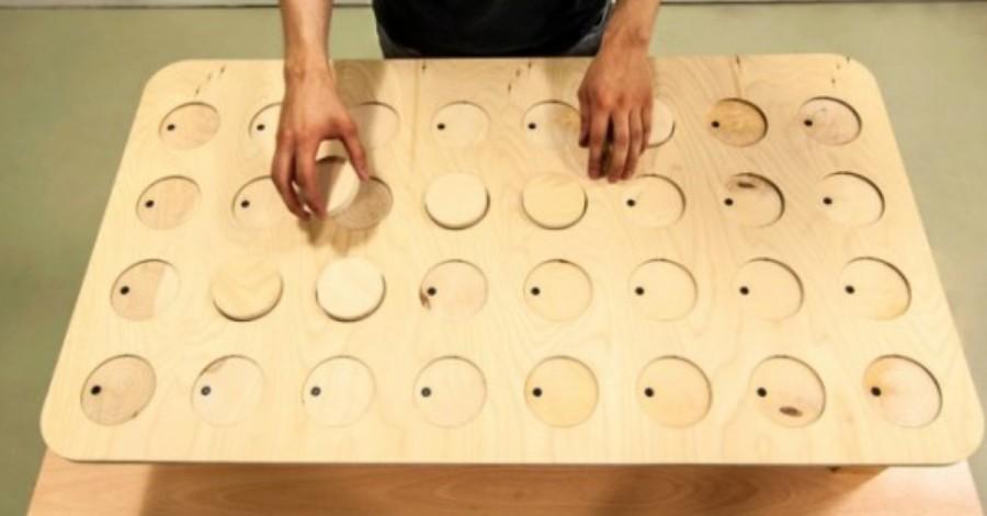 Arduino Dřevěný sequencer