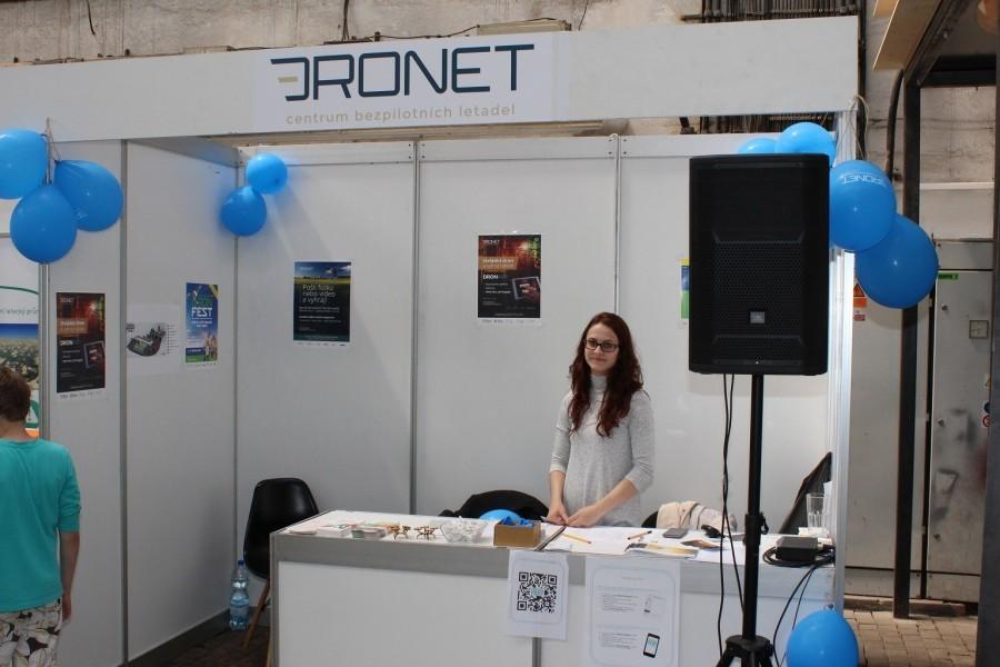 Pořadatel festivalu - DRONET
