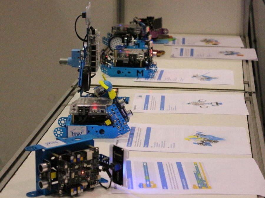 Přehlídka projektů s robotem mBot