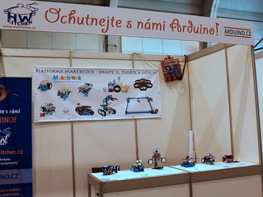 Stánek Arduino.cz a HW Kitchen část 2