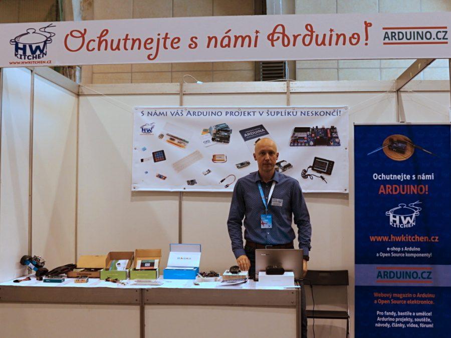 Stánek Arduino.cz a HW Kitchen část 1