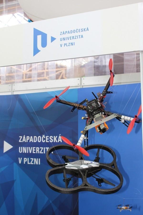 Drony Západočeské univerzity v Plzni