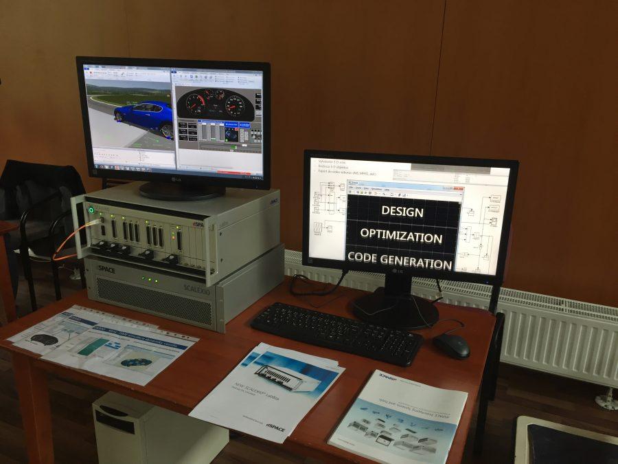 dSPACE – Modulární systém Scalexio