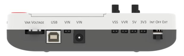 Napájecí konektory Arduino kitu Evive
