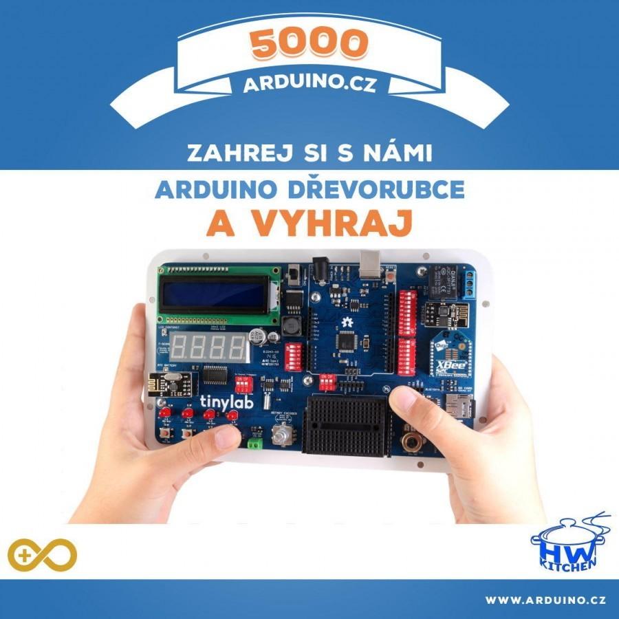 5000 Palců Arduino Challenge dřevorubecká soutěž