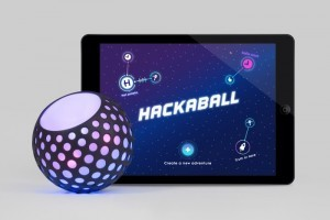 Hackaball míč Arduino