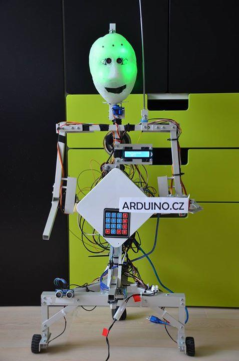 Jan Czapek - Humanoidní robot MARK