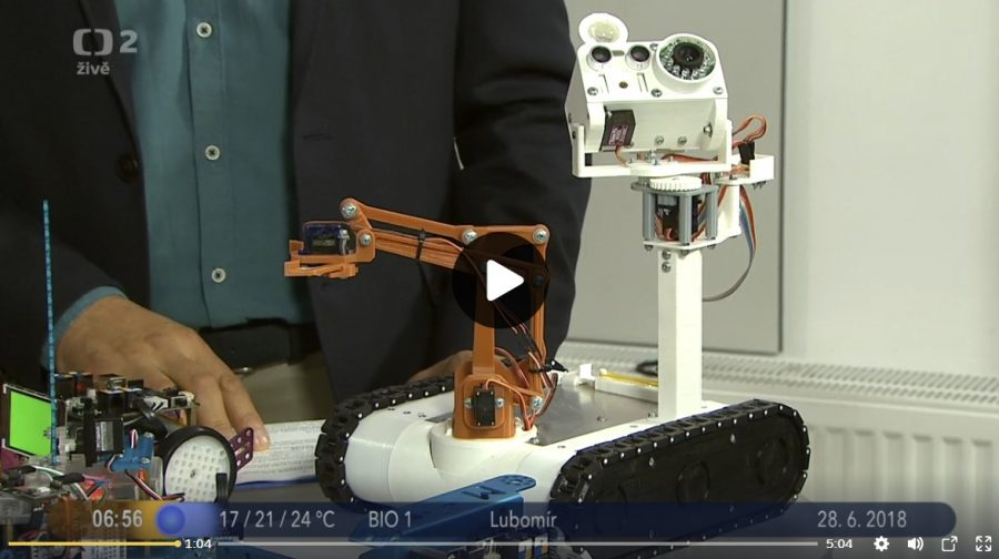 Představujeme roboty z Maker Faire v Dobrém ránu