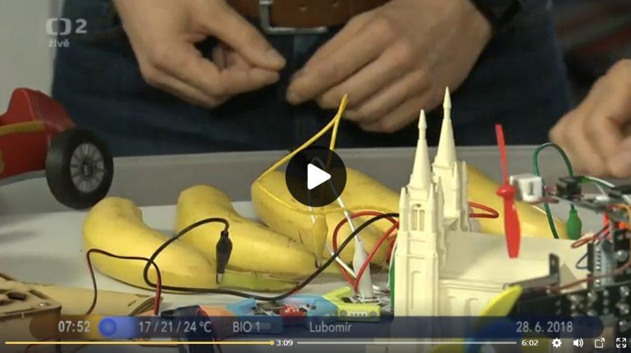 Hrajeme na banány v České televizi