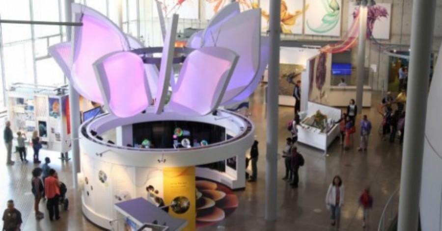 Arduino výstava barev