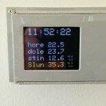 Chytrý termostat ovladatelný přes internet