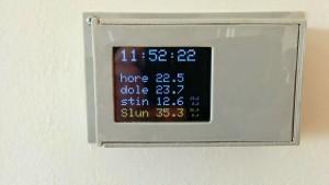 Chytrý termostat s připojením na internet